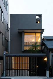 Modern House Fronts by 메일 조 경호 Outlook Architecture Exterior