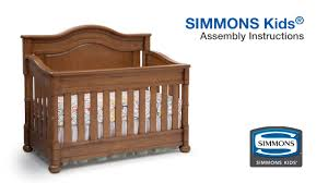 Bratt Decor Crib Assembly Instructions by Simmons Kids Hanover Park U0026 High Point Crib U0027n U0027 More Assembly