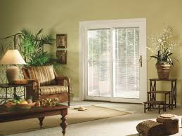 French Patio Doors With Built In Blinds by Sliding Patio Doors Energy Efficient Sunrise Windows