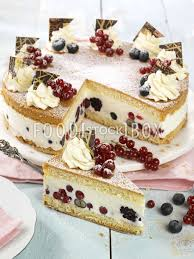 joghurt torte mit beeren 2 ostertorten und kuchen backen
