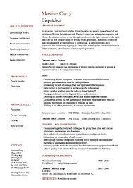 Dispatcher Job Description Resume Beautiful Sample 15 Oct Practicable Of