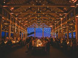 Bohemian Barn Wedding Lighting Ideas