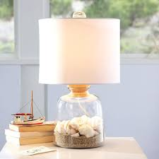 Fillable Table Lamp Base by Fillable Table Lamps Beach Lamp Glass Table Lamp With Collection