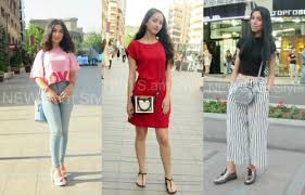 Even The Hottest Summer Can Not Prevent Any Girl To Look Modern And Fashionable Armenian Girls Are An Exception