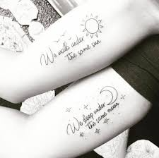 Sun And Moon Quotes Unique 50 Tattoos Ideas For Couples 2018 Tattoosboygirl