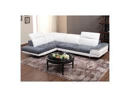 canapé d angle but gris et blanc canap cuir blanc but ovale gris table basse blanc laque but metal