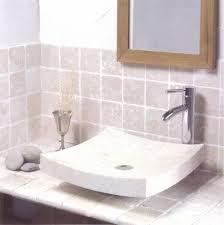 vasque en vasque à poser en marbre semi incurvée batiorient