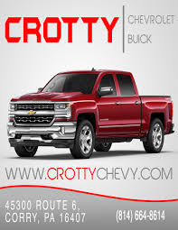 Crotty Chevrolet Buick - Corry, PA: Read Consumer Reviews, Browse ... Used 1980 Ford F250 2wd 34 Ton Pickup Truck For Sale In Pa 22278 Used Ford Trucks For Sale In Lebanon Auto Sales Pickup For In Pa Nolf Chrysler Dodge Vehicles Sale Fairmount City 16224 2018 Canyon Gmc Quakertown Star Buick Cadillac Cars Finder Ladelphia Find Shippensburg Chevrolet Silverado 1500 Lifted Ray Price Mt Pocono Service Utility Truck N Trailer Magazine 2012 F150 Danville Hamilton Hyundai Chambersburg 17202 New Bethlehem All Colorado