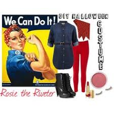 Rosie The Riveter Halloween Tutorial by Rosie The Riveter Halloween Costume Diy Via History U0026 High Heels