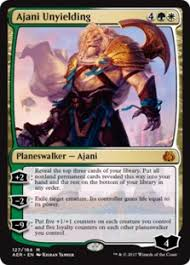 aether revolt spoilers ajani unyielding
