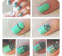Easy Nail Art For Beginners Step By Tutorials Inspiring Designs Ideas