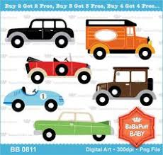 Buy 2 Get Free Vintage Racing Cars Clipart By Babapuffbaby 500
