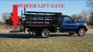 100 Salvage Trucks For Sale 2008 D F550 4x4 Super Duty 10 Rack Truck Power Liftgate