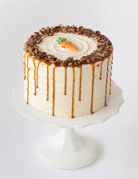 Perfect Decoration Carrot Cake Birthday Fancy Idea Bobbette Belle Pastry Shop Cakes