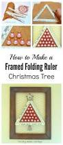 Spiral Christmas Trees Kmart by Folding Ruler Christmas Tree Thrifty Rebel Vintage