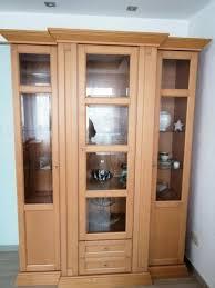 esszimmer schrank set vitrine sideboard ahorn echte holz