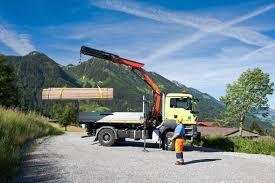 100 Truck Mounted Cranes Loader PALFINGER