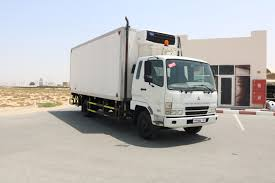 100 7 Ton Truck Mitsubishi Fuso With Carrier Chiller And Palfinger Tail Lift Truck