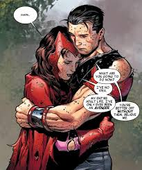 In This Arc Scarlet Witch Loses Her Mind Resulting The Death Of Many Avengers Including Vision