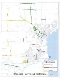 100 Truck Route Map Designated Thunder Bay Chamber Of Commerce