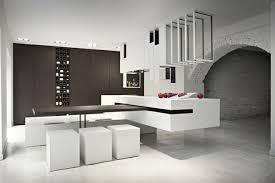 ilot central cuisine design ilot de cuisine design modeles cuisines contemporaines meubles
