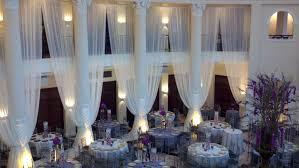 Gold And White Sheer Curtains by Wedding Drapes Sheer Curtain 25 U0027x114