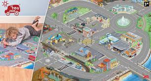 tapis de jeux voitures tapis de jeu pour petites voitures 100x150cm le le