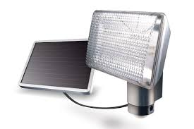 solar powered flood lights hommum