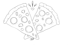 pizza sticker design by eternal pizza party