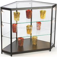 DecorationGlass Curio Cabinet For Sale Small Glass Display Top