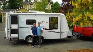 RV Wheel Life » Blog Archive » Retired RVers From Oregon Trade In ... Rvnet Open Roads Forum Fifthwheels Anyone Own A 1820 Ft 5th 1993 Used Fleetwood Caribou Truck Camper In California Ca 1968 Avion C11 Rd Usa Classics View Eagle Cap Campers Brochures Rv Literature 1991 Minnesota Mn Tent Trailers Buyers Guide Magazine Fleetwood Caribou Trails Of Gnarnia 1966 C10 1995 Elkhorn 9t 7550a Twin Falls Bishs 2001 Northwood Arctic Fox 1150 Tucson Az Freedom