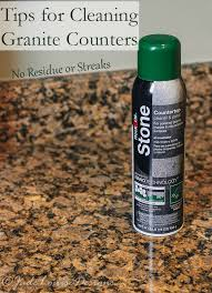 better way of Cleaning Granite Countertops and stone