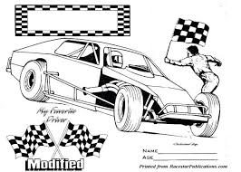 Disney Cars Coloring Book Pdf Pages Modified Race Car Colouring Books Pixar