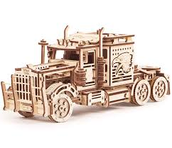 100 Trick My Truck Games Amazoncom Wood Big Rig Mechanical Models 3D Wooden Puzzles