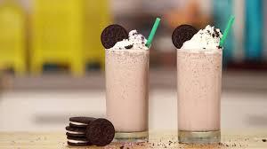 Starbucks Secret Menu Drink Cookies And Cream Frappuccino