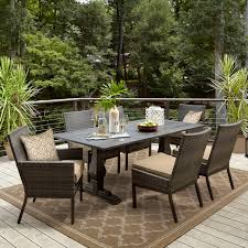 Patio Furniture Sets Sears by Grand Resort Patio Furniture Dining Table Sears