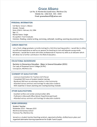 Sample Resume For Computer Science Fresh Graduate New A Boatremyeaton
