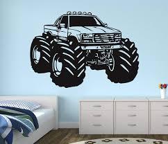 100 Monster Truck Decals Amazoncom Race Wall Decal Nursery Art Kids Bedroom