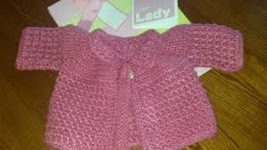 on the needles u2013 crochet baby sweater at margareta u0027s haus