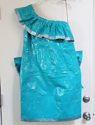how to make a duck tape dress