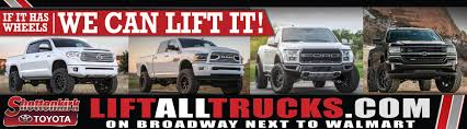 Shottenkirk Toyota | Vehicles For Sale In Quincy, IL 62305 How To Choose A Lift Kit For Your Truck Davis Auto Sales Certified Master Dealer In Richmond Va Rocky Ridge Upstate Chevrolet Top 25 Lifted Trucks Of Sema 2016 Phoenix Vehicles Sale In Az 85022 Dodge Diesel For Sale Car Designs 2019 20 Houston Show Customs 10 Lifted Trucks Wood Plumville Rowoodtrucks 2015 Silverado 2500 75 Lift Ford Lifted 2013 F250 Platinum F Inch At Ultra Hot