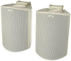 Polk Audio Ceiling Speakers Rc60i by Amazon Com Polk Audio Atrium 4 Outdoor Speakers Pair White