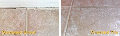 damaged grout repair tile replacement by grout rhino