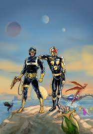 Nova And Classic Star Lord