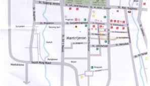 Sultan Palace Yogyakarta Map