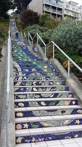 16th Avenue Tiled Steps In San Francisco by Walking The Steps In San Francisco The Adventures Of Elatlboy