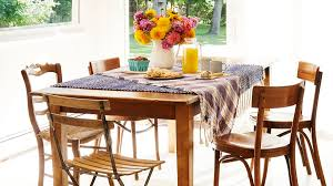 Simplicity Is The Name Of Game In This Rustic Dining Room A Table Crafted