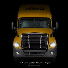 100 Penske Semi Truck Rental Makes Lite LED Headlights Standard For
