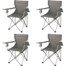 100 Walmart Black Folding Chairs 4Ct Ozark Trail Classic Camp Gray Slickdealsnet