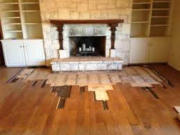 Steam Cleaning Old Wood Floors by Spring Hill Construction